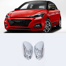 ABS Chrome Exterior Car-styling Accessories Door Mirror Cover 4pcs For HYUNDAI I20