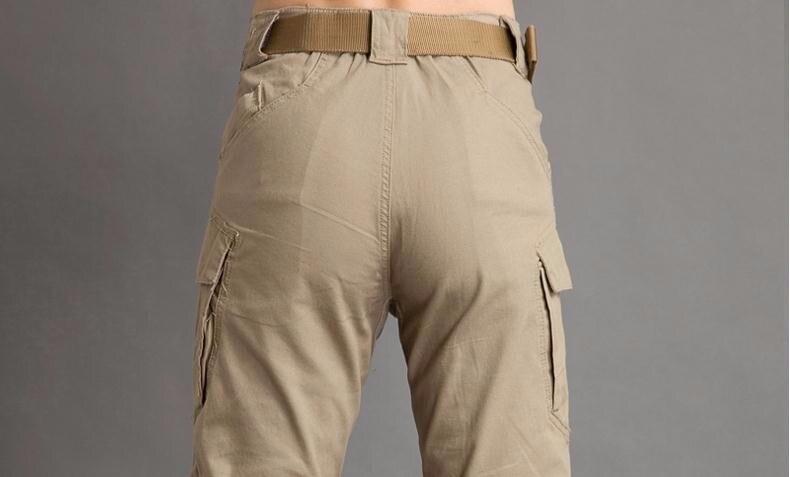 Hart Arbeitend 2017 Brand New Fashion Mens Military Style Cargo Hosen Warme Multi Taschen Gerade Beiläufige Lange Hose Homme 53 Mutter & Kinder