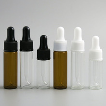 30 x 10ml 15ml Dropper Bottle 1/2oz 1/3oz Amber Clear Glass E-Liquid Drop for essential basic massage oil Pipette Vials