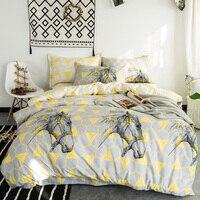 100 Cotton Fashion Horses Geometric Print Bedlinens Full Queen King Size Duvet Cover Sets Fabric Cartoon