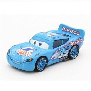 Image 4 - 1:55 Disney Pixar Cars 3 2 Metal Diecast Car Toy Lightning McQueen Jackson Storm Combine Harvester Bulldozer Kids Toy Car Gift