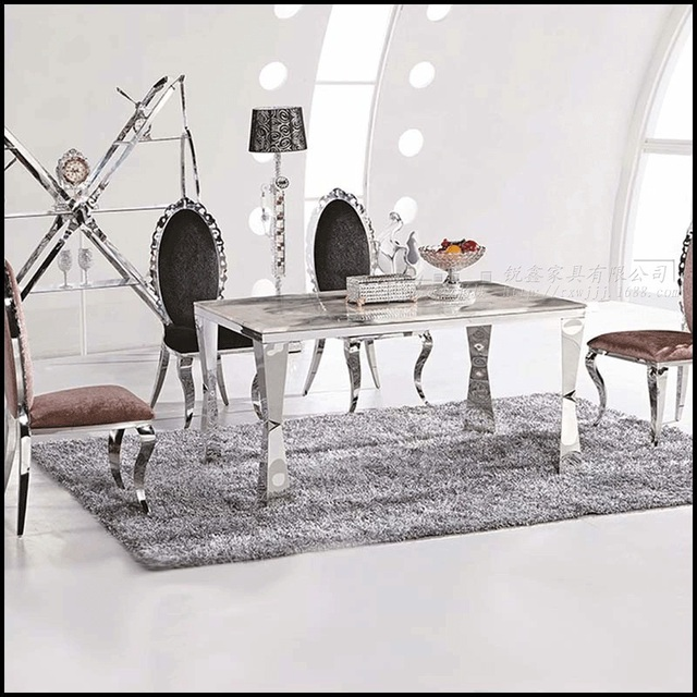 Conjuntos de comedor mesa de comedor de mármol 4 sillas modernas ...