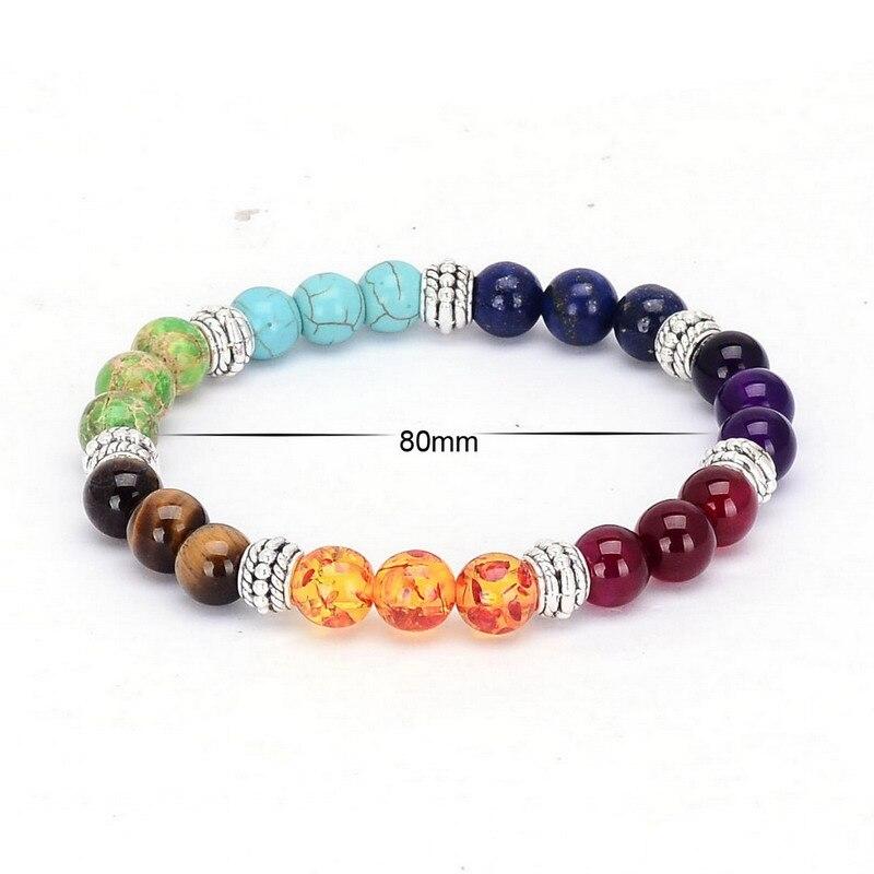 7 Chakra Gemstone Bracelet 2
