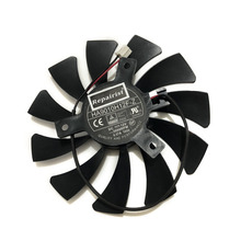 HA9010H12F-Z 85 мм 0.57A 2Pin GTX1050 охлаждающий вентилятор GPU для MSI Geforce GTX 1050 2G GTX 1050Ti 4G OC охлаждение графической карты