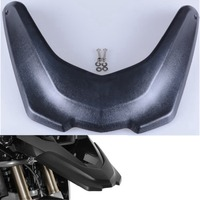 1pc Black Motorcycle Accessories Front Fender Beak Extension Extender Wheel Cover Cowl For BMW R1200GS LC