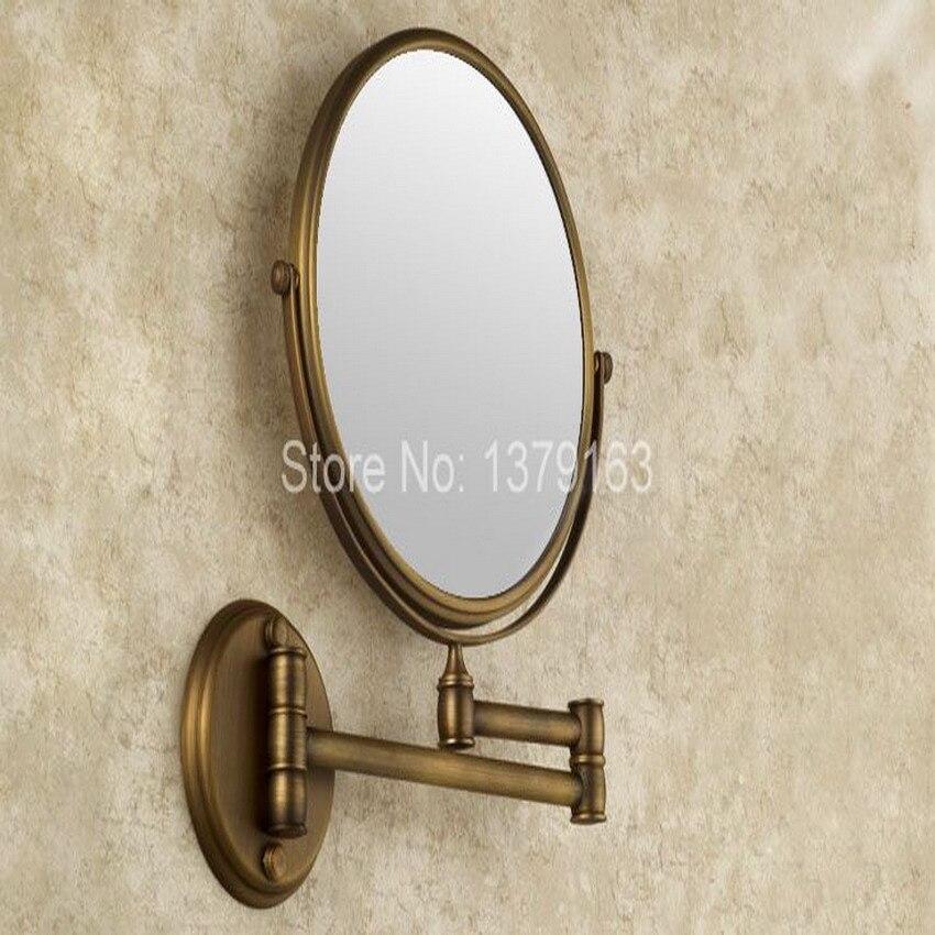 Swinging arm mirror