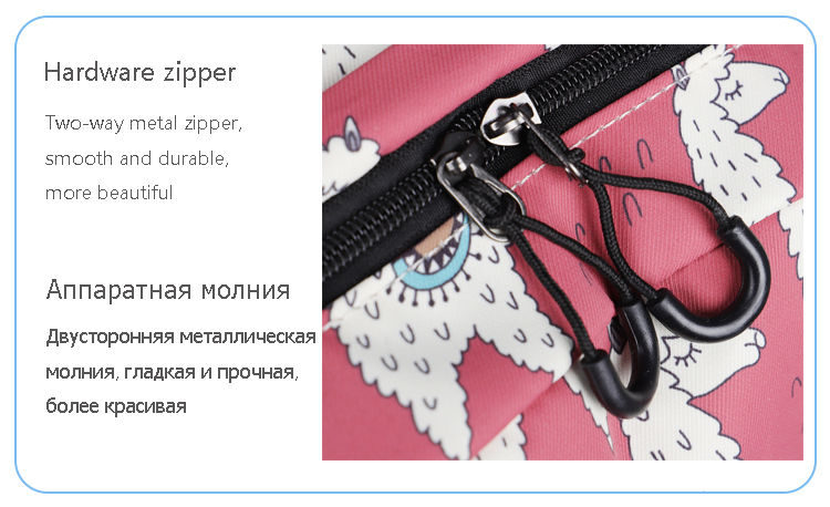 WINNER Backpack Cute Alpaca Print School Backpack Teenager Girls Water Repellent Fabric Laptop Bags Travel Mochila 2019 (11)