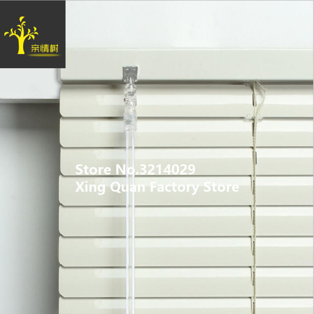 High Quality Waterproof Venetian Blinds Rope System Light Blades Aluminum Roller  Blinds for Bathroom Shower room. High Quality Waterproof Venetian Blinds Rope System Light Blades