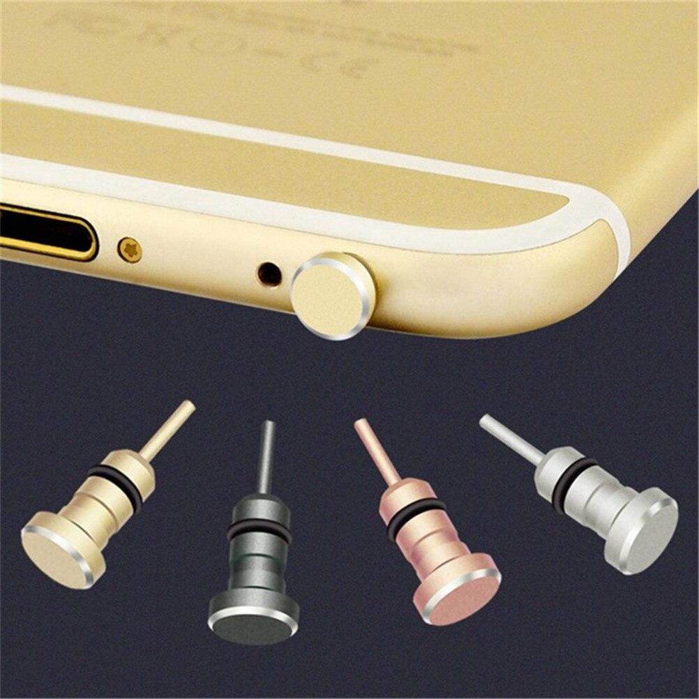 3.5mm Earphone Jack Plug 3.5 AUX Headset Dust Interface Anti Mobile Phone Card Retrieve Card Pin For Apple Iphone 5 6 Plus