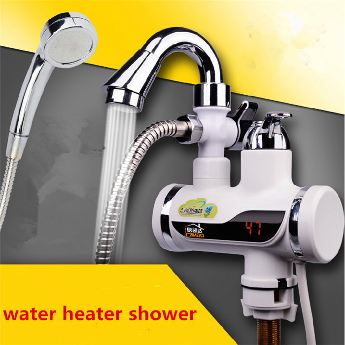 Exellent Portable Electric Water Heater Buy Led Display Hot Intended Decor
