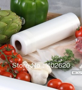 ФОТО Vacuum bags rolls 28x1500cm; for MagicVac vacuum package machine, FDA certification bags free shipping