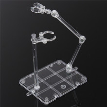 Kicute Action Base подходящий Дисплей Стенд для 1/144 HG/RG рисунок+ крючок синий прозрачный Подвижный кронштейн Модель лабораторный зажим