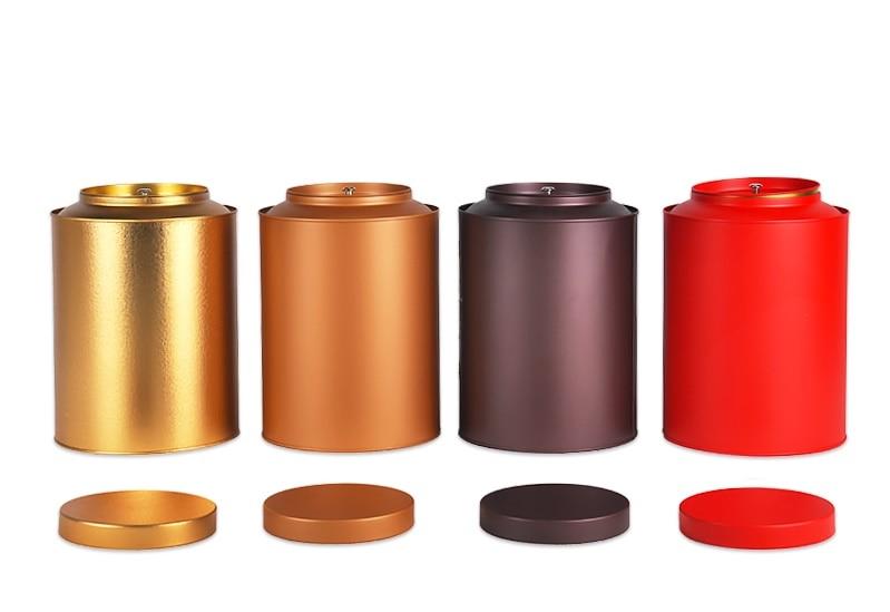 155*22 cm Runde große kapazität tee dose/süßigkeiten metall aufbewahrungsbox/  sc 1 st  AliExpress.com & Size: dia.74x117mm black round tea tin box/tea container/for 75g tea ...