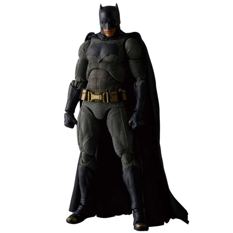 Avengers Justice League MAFEX NO.017 DC Batman v Superman: adalet şafağı Batman PVC Action Figure Koleksiyon Model Oyuncak