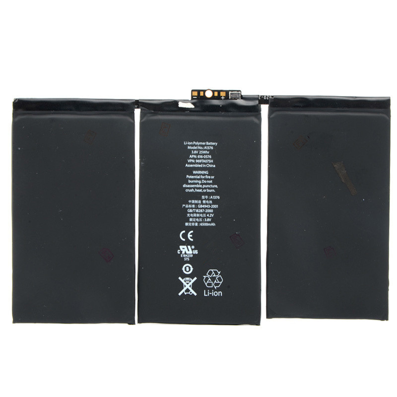 New Replacement 6500mAh Battery Lithium Fit For Apple Ipad 2 2G E0002 T18 0 2