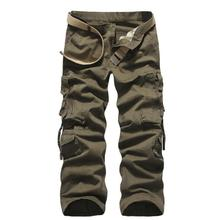 Cargo Pants Men New Men's Military Tactical Pants Multi Pocket Wash Cotton Fashion Casual Trousers Tooling Pants For Men