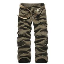 Cargo Pants Männer der Neuen männer Militärische Taktische Hosen Mehrfach Waschen Baumwolle Mode Casual Hosen Hosen Für Männer