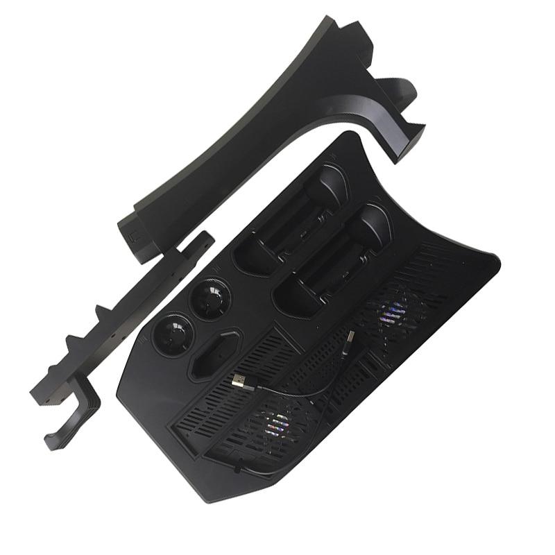 Hot PSVR PS4 Pro Slim charge présentoir vitrine pour PS4 VR Playstation 4 support Vertical ventilateur refroidisseur contrôleur chargeur HUB