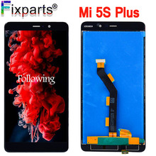 Xiaomi Mi5S Mi 5S PLus LCD Display With Touch Screen Digitizer Assembly 1920x1080 For 5.7 Xiaomi Mi 5S Plus LCD Replacement mi 5s plus 64gb grey