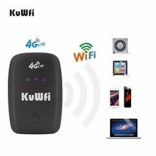KuWFi разблокирована 3g 4 г Wi-Fi роутера точки доступа мобильного Портативный карман Беспроводной автомобиля МИФИ модем с слот sim-карты 2000 мАч Батарея