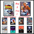 Classic science fiction movies Back To The Future Coated paper Poster Wall Sticker Home Bar Art Posters Decor Frameless