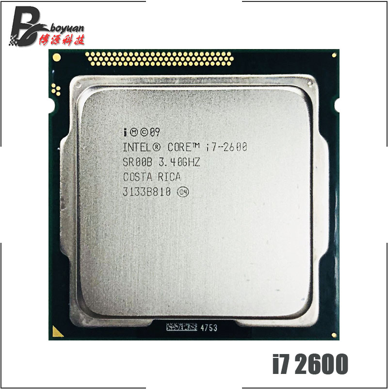 Intel Core i7 2600 i7 2600 3 4 GHz Quad Core CPU Processor 8M 95W LGA
