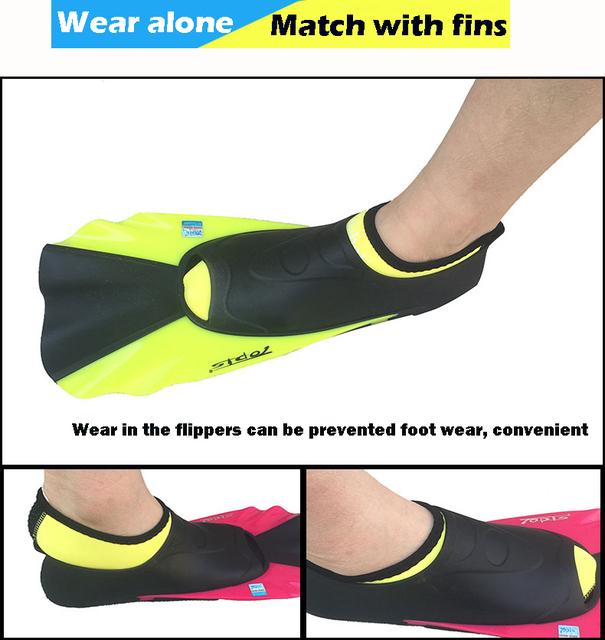 2-3MM Neoprene Short  Beach Socks Non-slip Antiskid Scuba Dive Boots Snorkeling Sock Swimming Fins Flippers Wetsuit Shoes