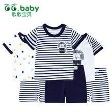 Купить с кэшбэком 2016 Baby Clothing Set Autumn Spring Long Sleeve Newborn Baby Boys Girls Clothes Set Cotton Print Dog Newborn Baby Suit Infant
