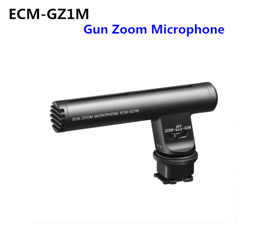 Sony ECM GZ1M Pistolet Zoom Microphone Pour SONY AX45 AX60 AX700 AX100E CX900E RX10 A6000 A6300 A6500 A7R A7RM3 A7M2 A7M3 A7SM2-in Cache objectif from Electronique    1