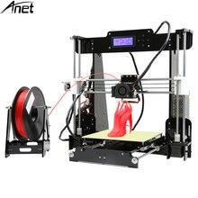 Новая горячая Распродажа Anet A6 A8 3D-принтеры легкая сборка «сделай сам» 3D-принтеры с SD карты USB подключение USA EU Бесплатная доставка в тариф