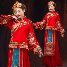 Women Bridal Gowns Retro Chinese Marriage Wedding Dress Female Wedding Costume Chinese Traditional Costume Clothing 89