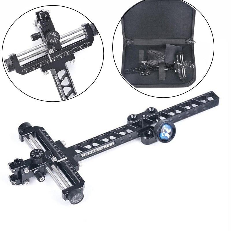 Vue Composite cadre de visée compétitif Micro ajuster la cible tir à l'arc utilisation avec tête de visée pour arc composé et chasse