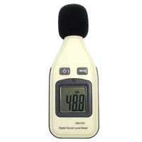 1 5 lcd 30-130dBA High Quality  Digital Noise Sound Level Meter 1.5 dB Accuracy Decibel Logger Tester LCD Automatic Backlight GM1351 (4)