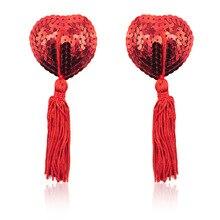 2020 prodotti del sesso Sexy giocattoli donna Lingerie paillettes nappa reggiseno copricapezzoli Pasties adesivi petali abbigliamento accessori del sesso