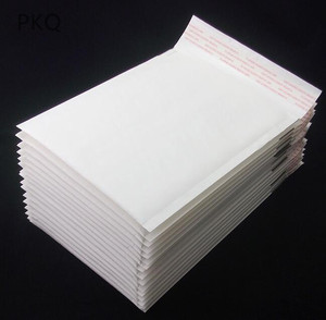 Image 3 - 100pcs/lot Wholesale Kraft Bubble Mailers Padded Envelopes Packaging Shipping Bags White Bubble Mailing Envelope Bags