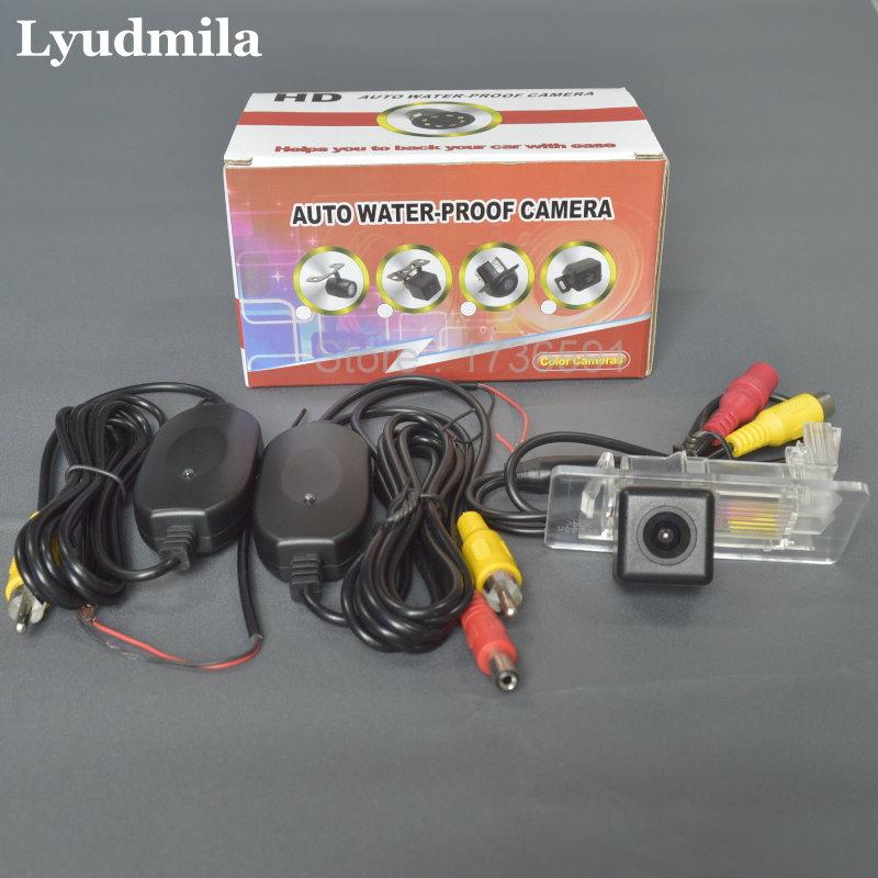 Lyudmila Wireless Camera For Volkswagen VW Golf Wagon / Golf Plus Car Rear view Camera HD Reverse Back up Camera Parking Camera цена 2017