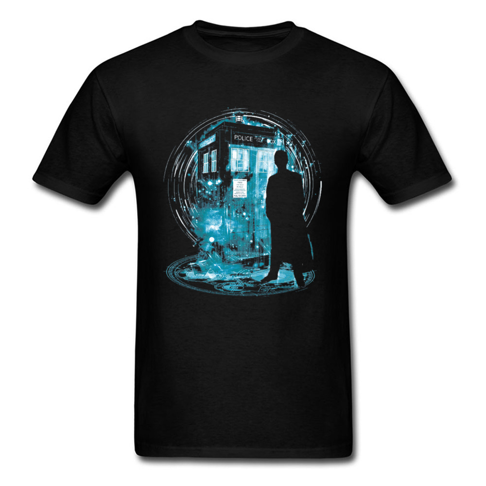 Doctor Who Tardis Tshirts 3D Print Dr Who Dalek Designers   T     Shirt   Cotton Black Fashion Clothing Exterminate SpaceShip Tees Man