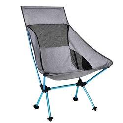 Draagbare Gray Moon Stoel Vissen Camping Kruk Vouwen Uitgebreide Wandelen Seat met Pocket Ultralight Kantoor Meubelen