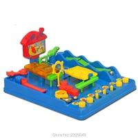 New 1 Set Intellectual Ball Waterpark Plastic Adventures Montessori Desktop Game Adventure Fun Toy lplexus Maze Puzzle Toys Gift