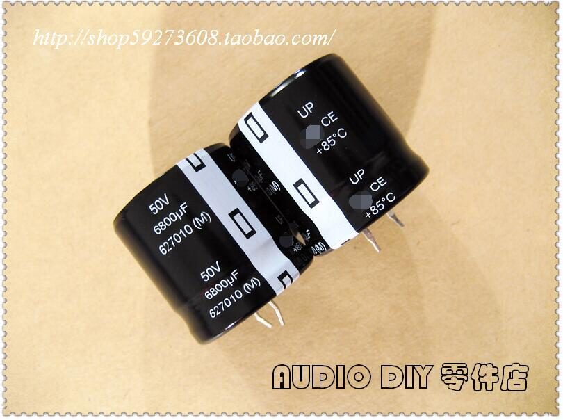 UP series 6800uF 50V electrolytic capacitor 30X30mm. image