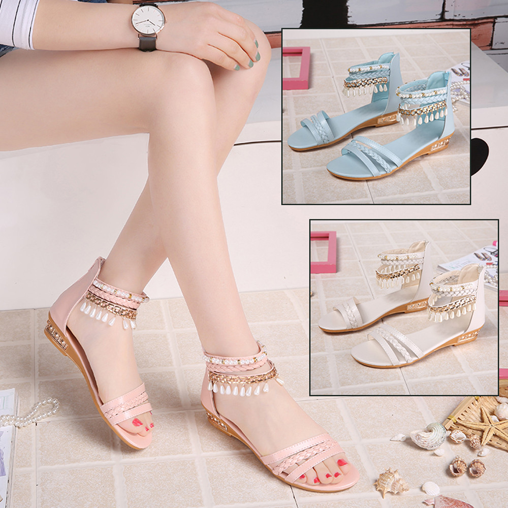 SIKETU Summer Elegant Platform Shoes Woman Pearl Wedges Sandals Casual Shoes Jn6 Y30 phyanic 2017 gladiator sandals gold silver shoes woman summer platform wedges glitters creepers casual women shoes phy3323