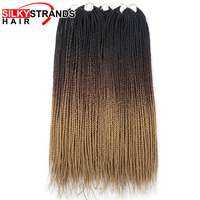 Шелковистые пряди Ombe плетение волос