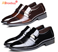 In Stock!High Quality Leather Shoes Men,Lace-Up Wedding Shoe,Men Dress Shoes,2017 British Style Fashion Men Oxford Free Shipping