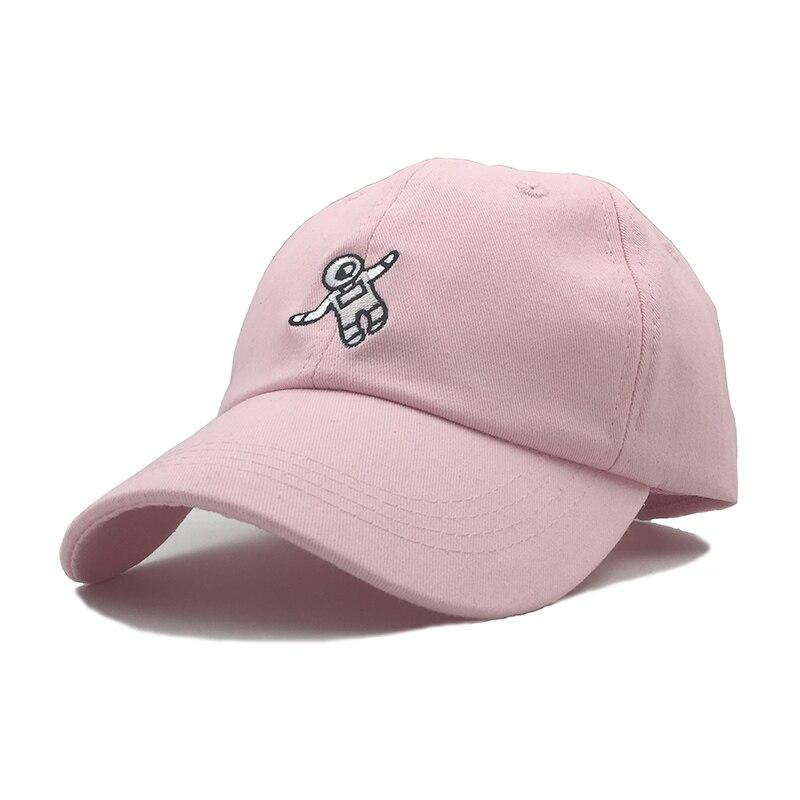 100% QualitäT Neueste Spaceman Stickerei Baseball-cap 4 Farben Erhältlich Unisex Fashion Dad Hüte Einstellbar Baumwolle Hysteresenhüte Beiläufige Kappen Wir Haben Lob Von Kunden Gewonnen