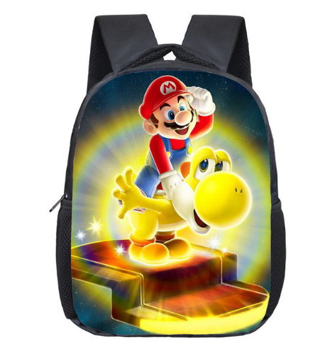 12 Zoll Super Mario Bros Kindergarten Schule Taschen Sonic Druck Bookbags Kinder Baby Kleinkind Tasche Kinder Rucksack Geschenk