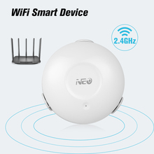 Датчик утечки воды NEO Smart, WIFI, детектор утечки воды, приложение, оповещение, датчик воды, сигнализация утечки, Домашняя безопасность