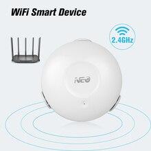 NEO capteur intelligent de fuite deau wi fi, alarme de fuite avec application, Notification, capteur pour sécurité