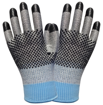 цена на Cut Resistant Work Glove Stainless Steel Gloves 2 Pairs Aramid Fiber Labor Glove HPPE Anti Cut Safety Glove