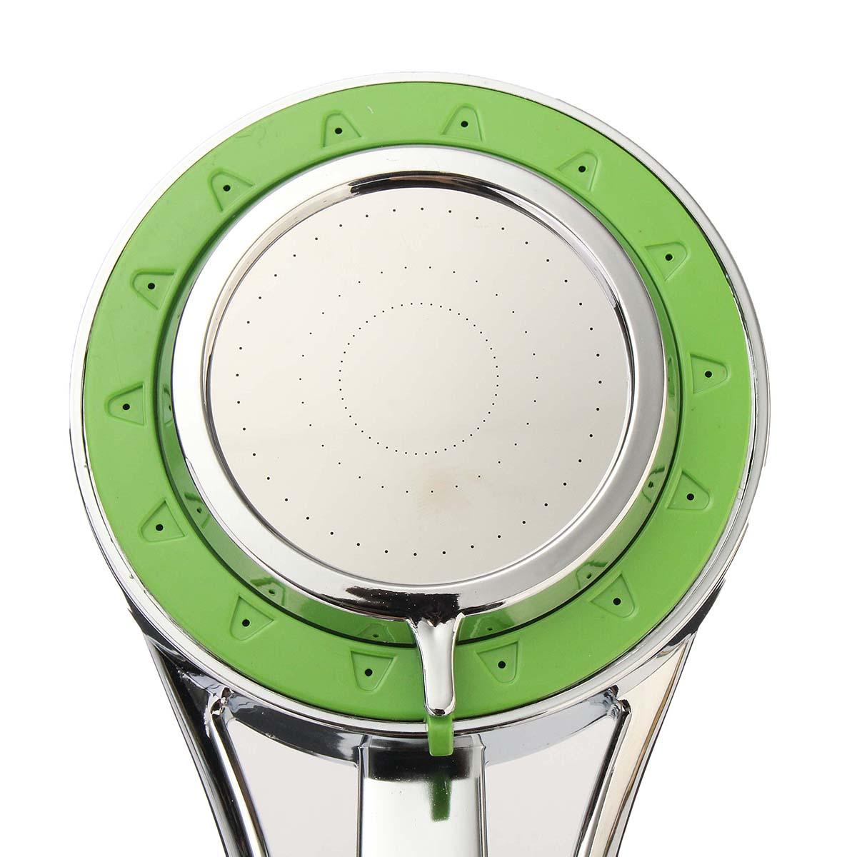 Water Saving Shower Head 3 Modes ABS Bathroom Handheld Chrome ...