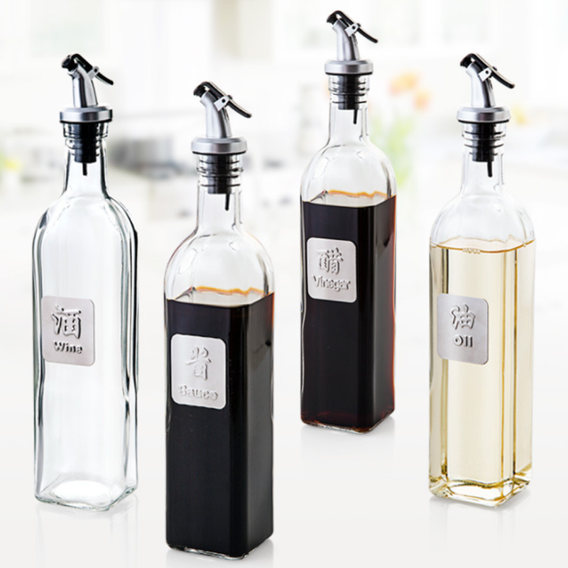 Wine Sprayer Liquor Spirit Pourer Dispenser Flow Olive Oil Bottle Pour Spout Pourers Flip Top Stopper Barware Kitchen Tools